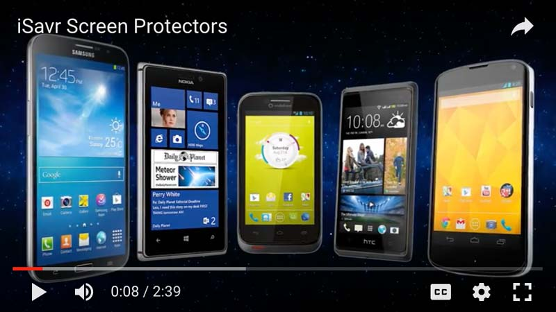 iSavr Screen Protectors