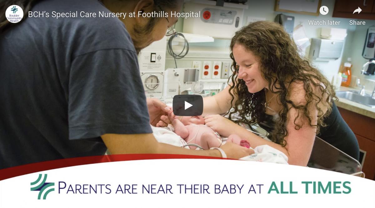 Boulder Community Health - Special Care Nursery
